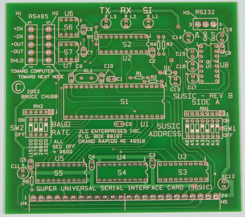 Super Universal Serial Interface Card (SUSIC) - JLC Enterprises - 1