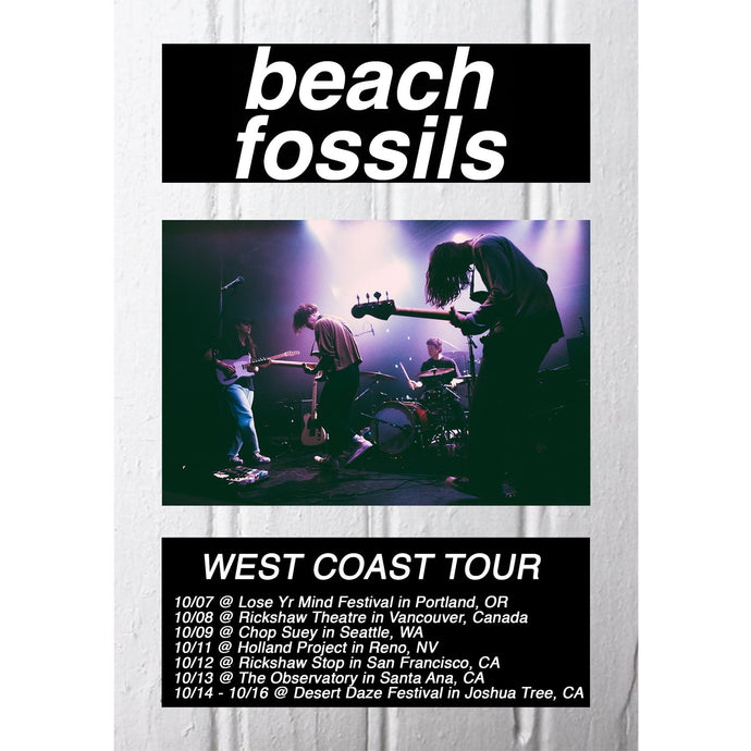 Beach Fossils West Coast Tour, Vancouver w/Frankie Cosmos