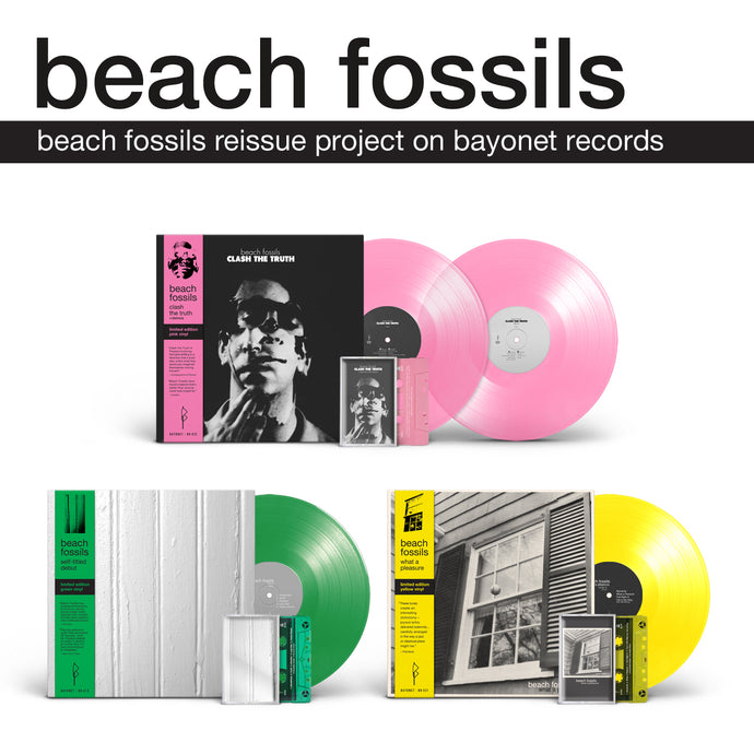 Announcing Beach Fossils Reissue Project on Bayonet Records