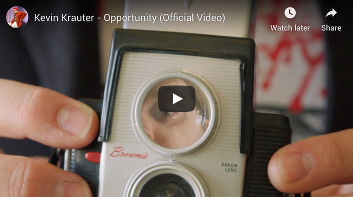Kevin Krauter New Video 'Opportunity' Out Now
