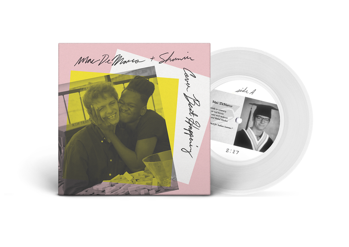 "Announcing Record Store Day Exclusive 7"", 'Mac DeMarco and Shamir Cover Beat Happening'"