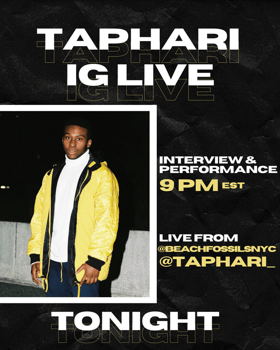 Taphari's Going Live on IG