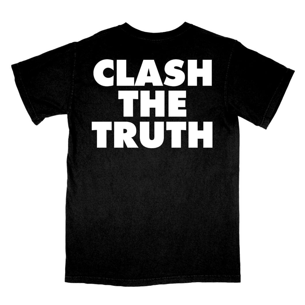 Beach Fossils Clash The Truth Shirt (black)
