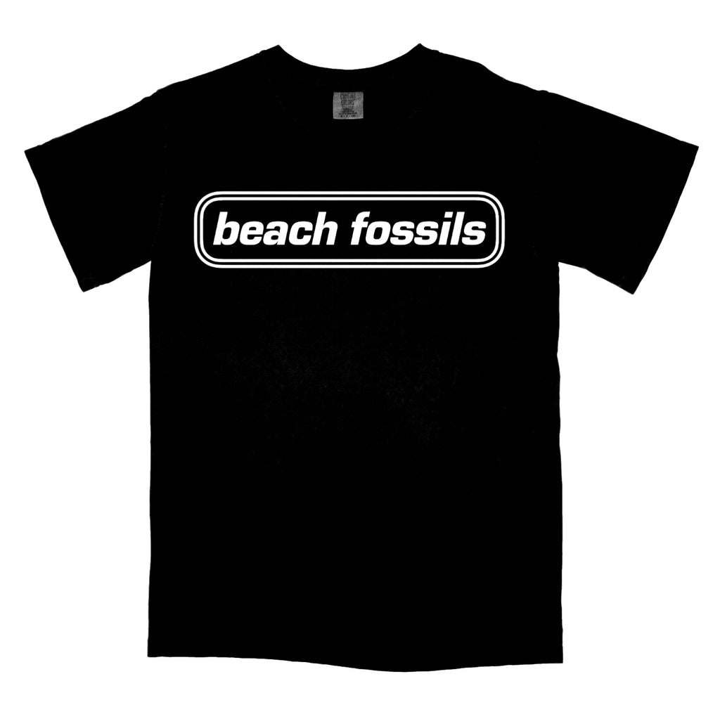 Beach Fossils Logo Shirt (black)