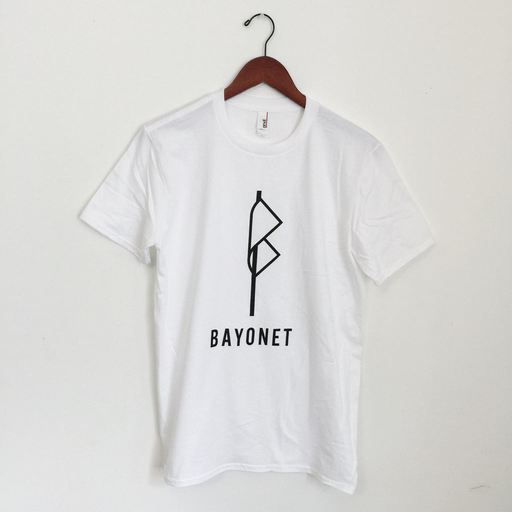 Bayonet Records T-Shirt (white)