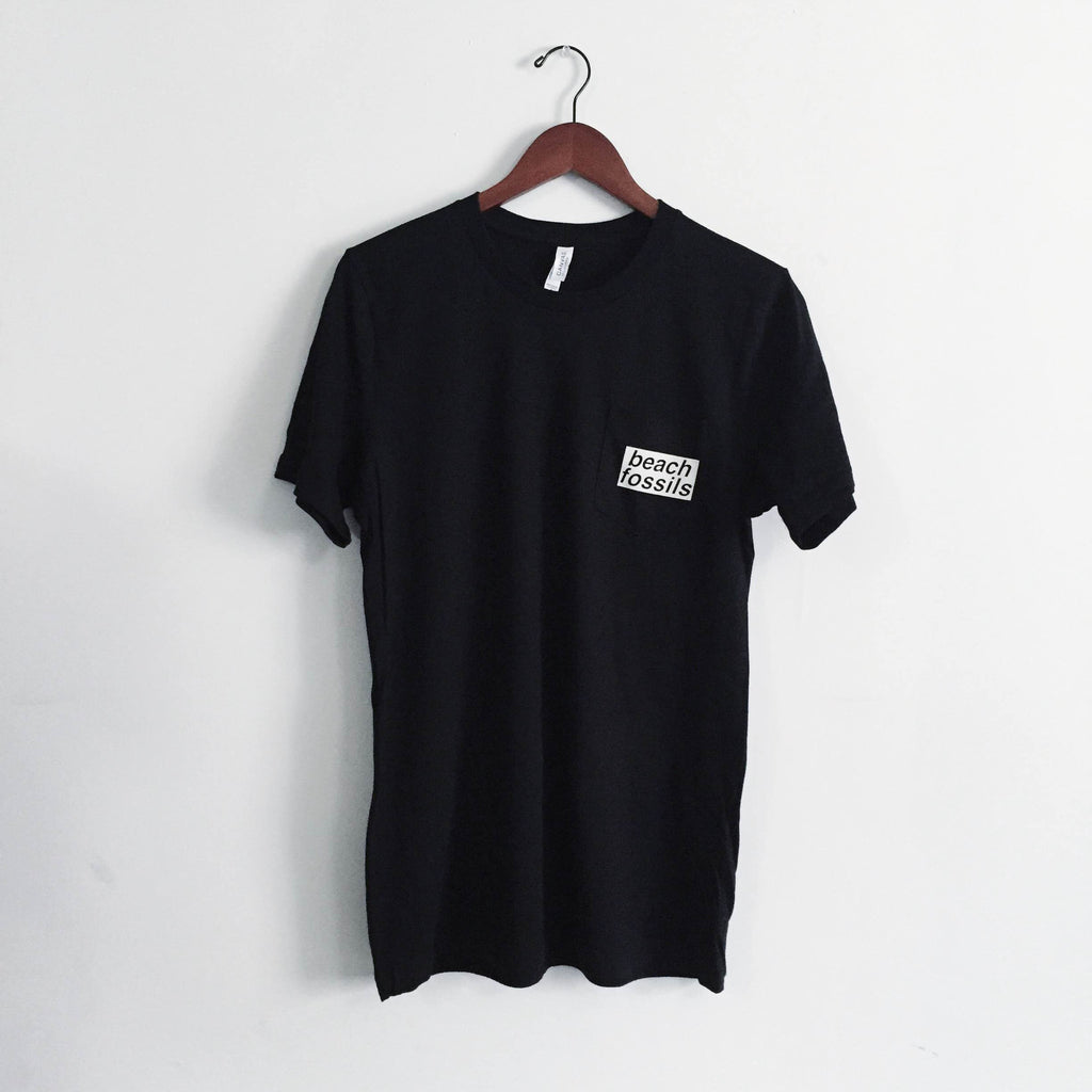 Beach Fossils Pocket Tee (Black)