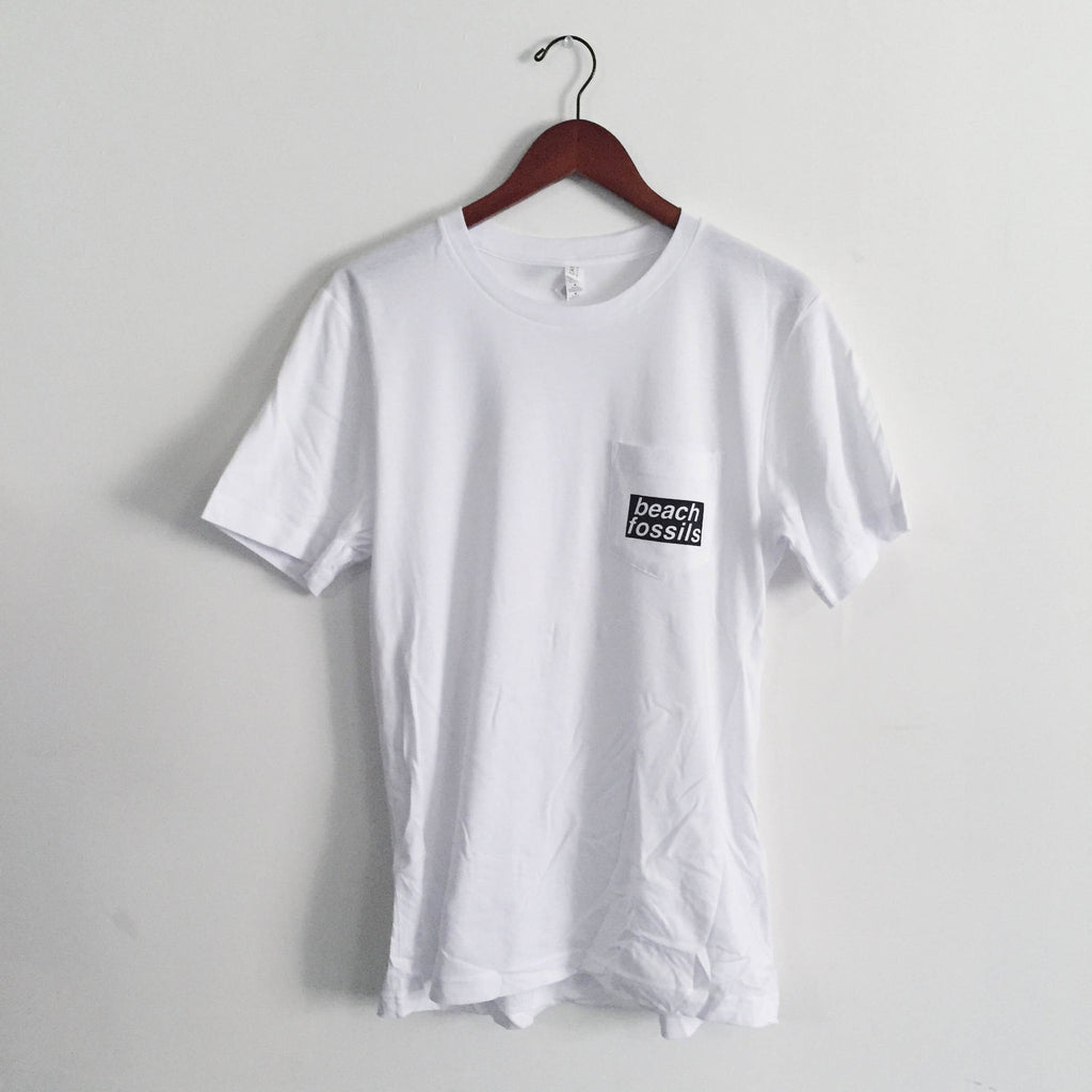 Beach Fossils Pocket Tee (White)