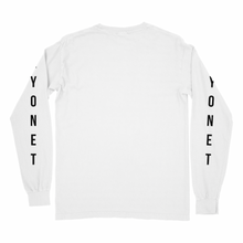 Load image into Gallery viewer, Bayonet Records Long Sleeve Shirt (White)