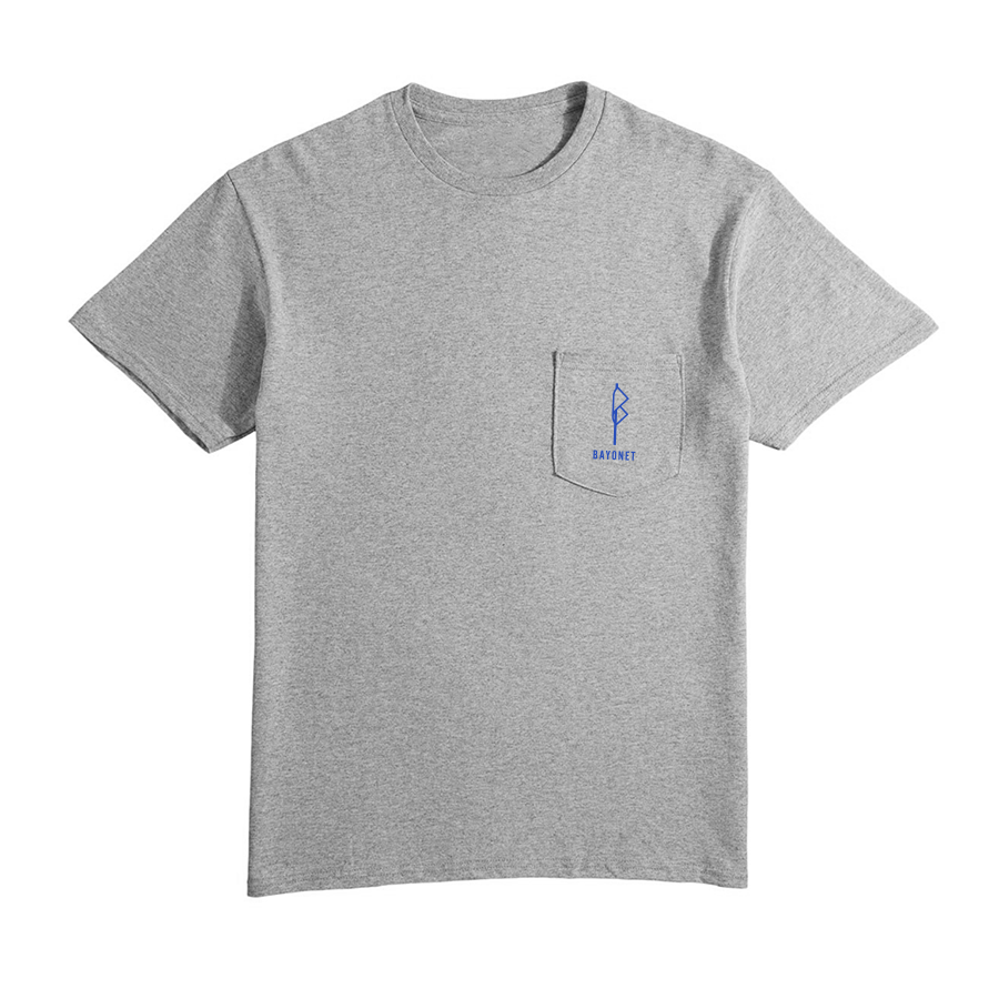 Bayonet Records Pocket T (gray)