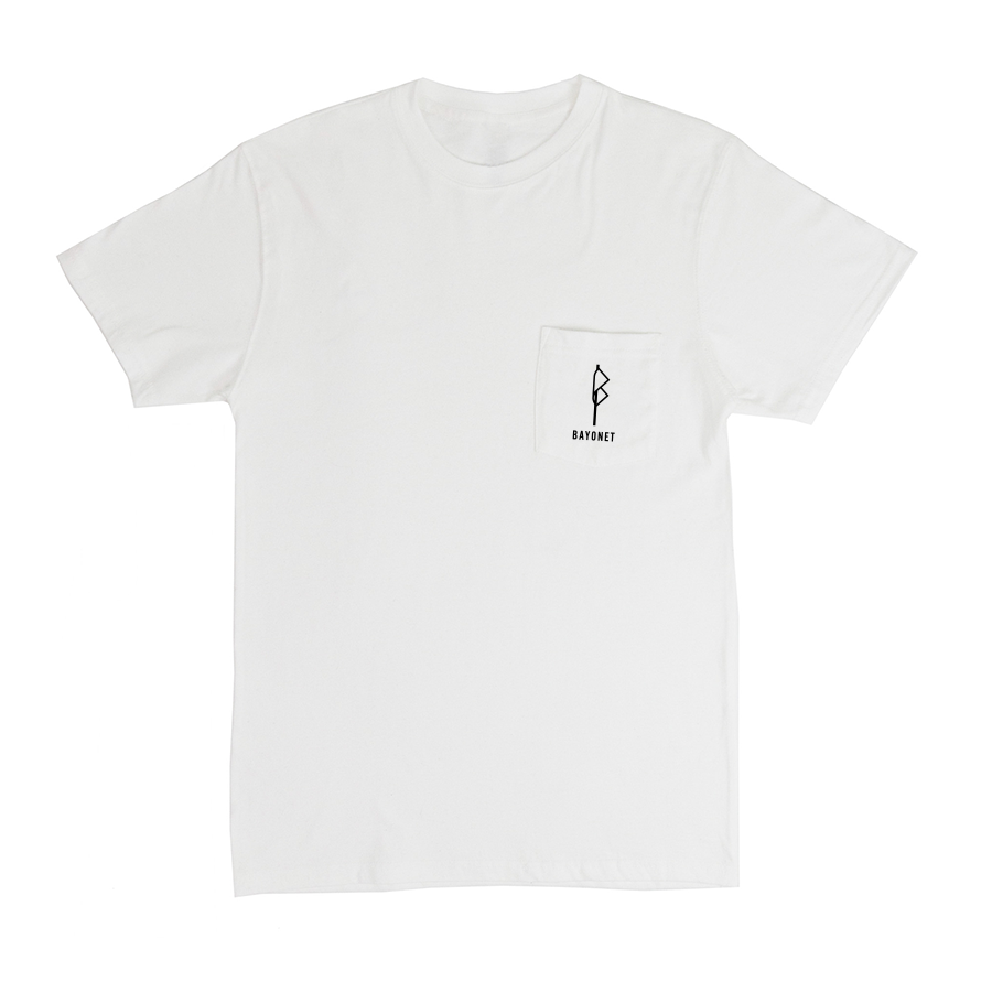 Bayonet Records Pocket T (white)