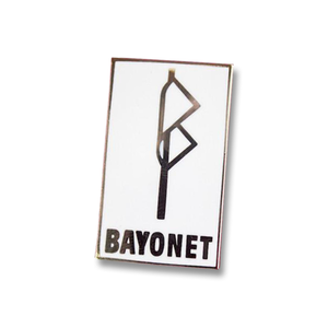 Bayonet Records Enamel Pin