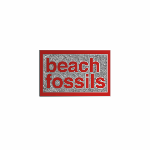 Beach Fossils Enamel Pin