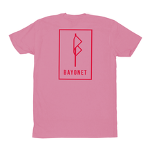 Load image into Gallery viewer, Bayonet Records T Shirt (Pink)