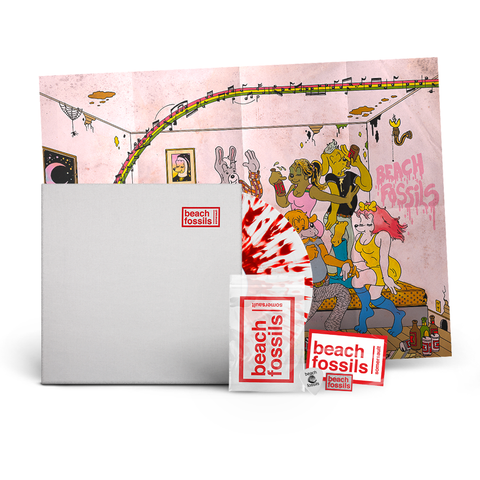 Beach Fossils 'Somersault' LTD Edition Vinyl + Signed Poster Bundle