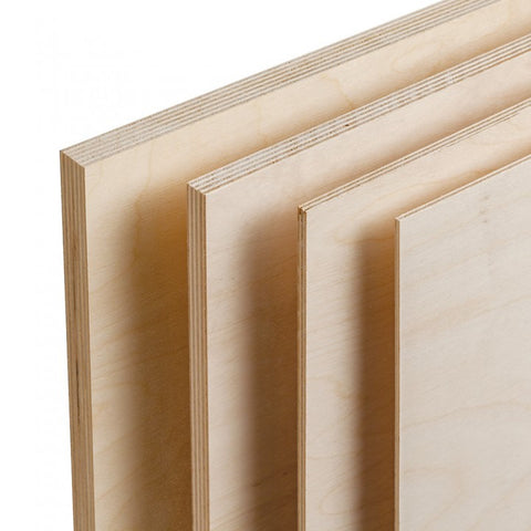 "1/2"" Plywood: Quarter Panel - 2ft x 4ft"