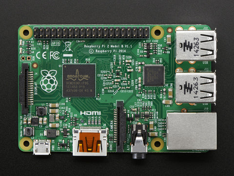 Raspberry Pi 2 - Model B - ARMv7 with 1G RAM