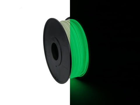 Type A Experimental Filament: Glow In The Dark PLA (price per gram)