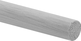 "Wood Dowel, 1/2"" Diameter"