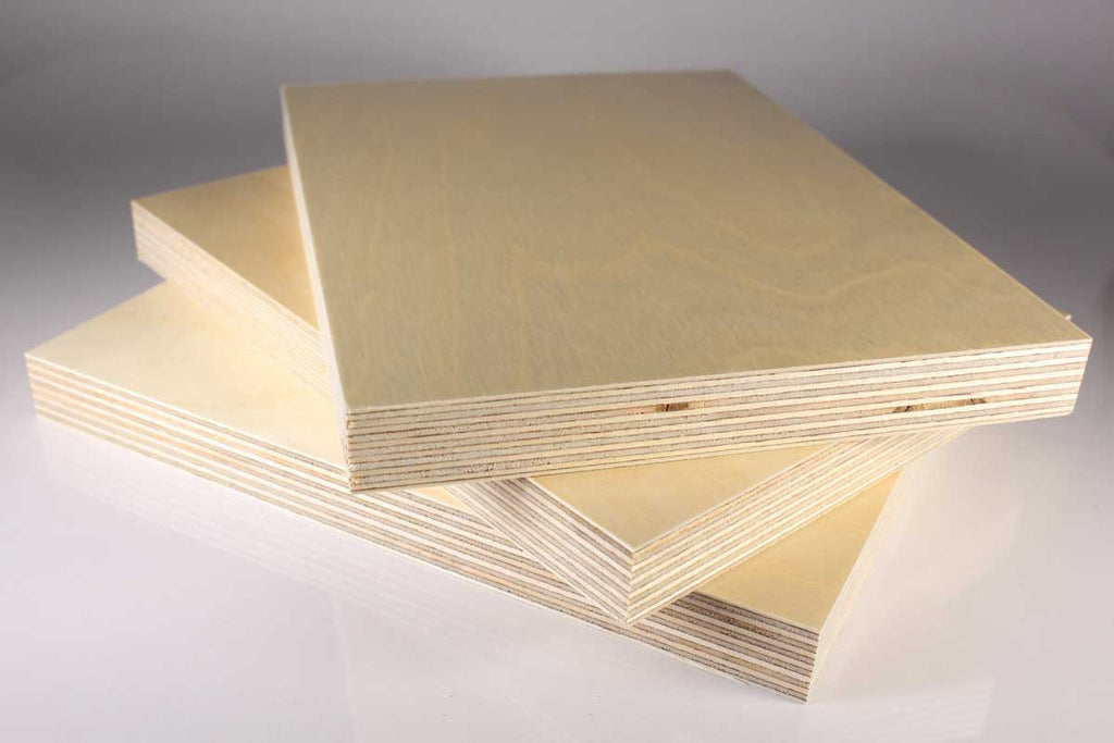 "Plywood - 1/8"" (Priced per square inch)"