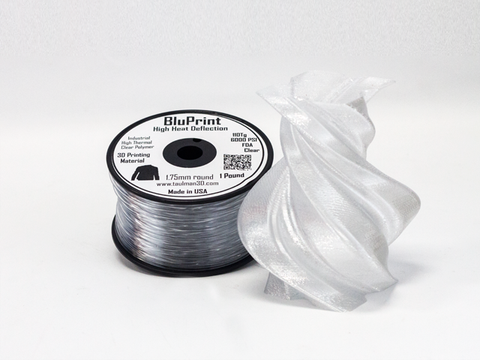 Type A Experimental Filament: Taulman BluPrint (price per gram)