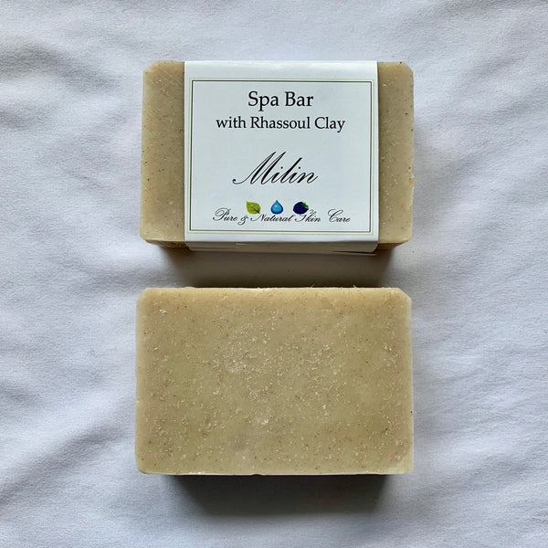 Spa Soap with Rhassoul Clay (5 oz bar)
