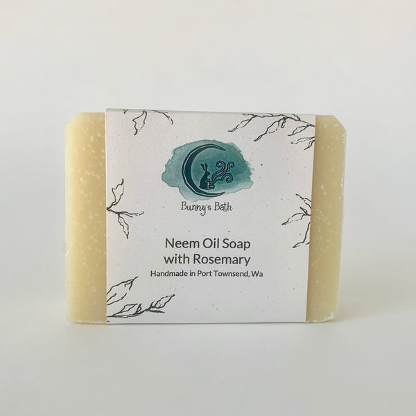 Neem Oil Soap with Rosemary