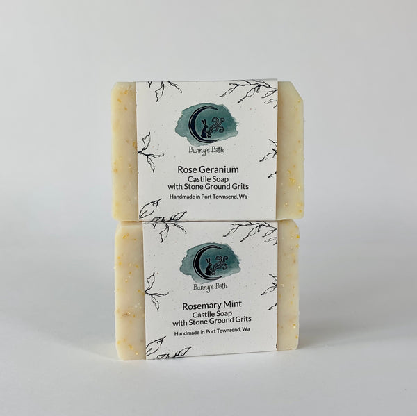 Gardener's Soap with Stone Ground Grits