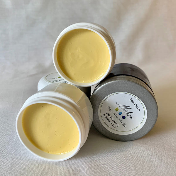 Hydrating Face Cream with Vitamin C & Coenzyme Q10