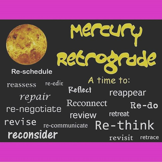 Surviving the Holidays during Mercury Retrograde by Laura Richmond