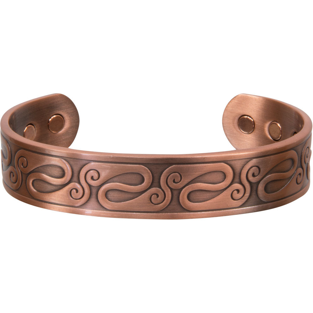 jewelry for cuff metal wavy india lines copper cat handmade antique brass overstock bracelets less bracelet watches