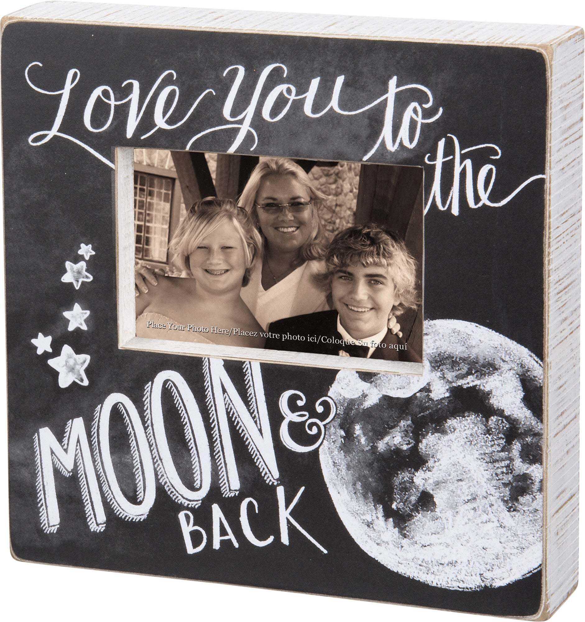 Love You To The Moon And Back Photo Frame 10 Square Karmic