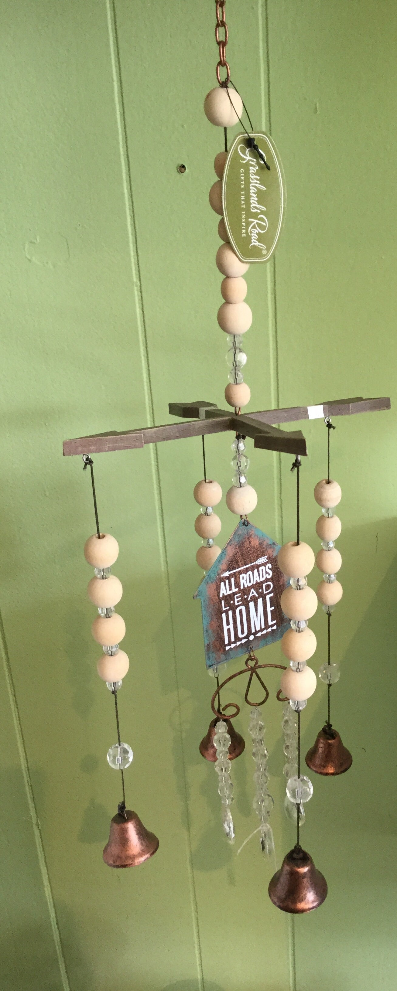 Bells and chimes karmic inspirations grasslands road all roads lead home arrow wind chime buycottarizona Choice Image