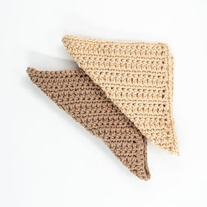 100% organic cotton facial wash cloths