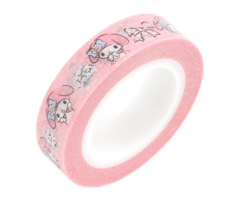 Cute Kawaii Sanrio My Melody Washi / Masking Deco Tape - A - for Scrapbooking Journal Planner Craft