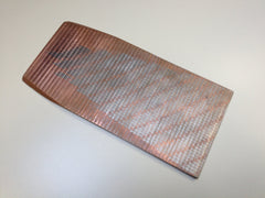 EXTREMELY RARE Superconductor Copper Niobium Metal Alloy (Zebra Pattern) from the ex-Texas Superconducting Super Collider / DESERTRON
