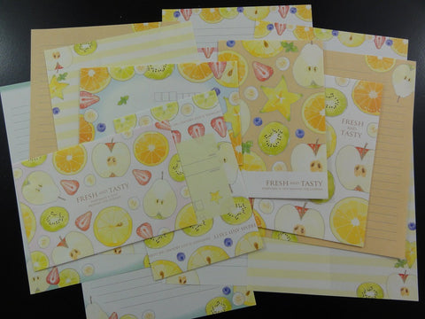 Crux Fresh and Tasty Fruits Letter Sets