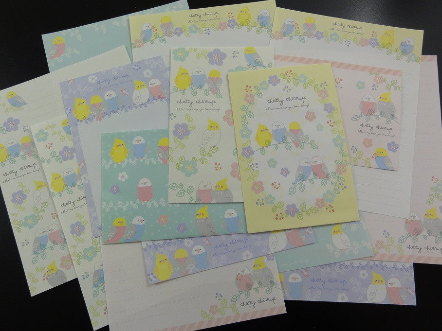 Q-Lia Chatty Chirrup Birds Letter Sets