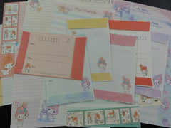 z Cute Kawaii Sanrio My Melody Letter Paper + Envelope Theme Set