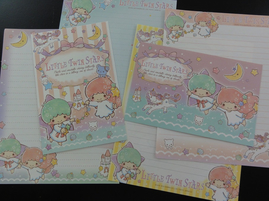 Sanrio Little Twin Stars Pearls and Seashells Letter Sets