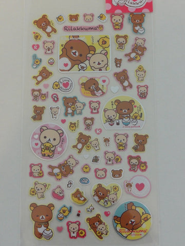 Cute Kawaii San-X I Love Rilakkuma Sticker Sheet