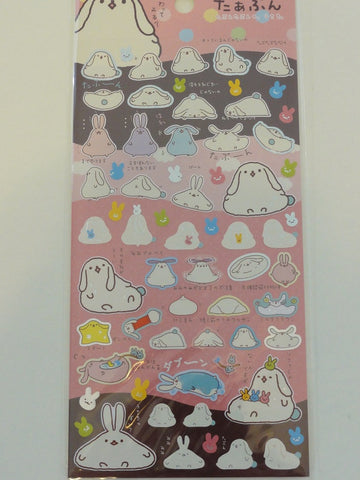 Cute Kawaii San-X Mofutanzu Sticker Sheet - A - Rare
