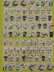 Cute Kawaii Crux Chima Friends Panda Sticker Sheet