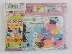 Cute Kawaii Crux Alice Magic Wonder Girl Fairy Tale World Letter Set Pack - Stationery Writing Paper Penpal