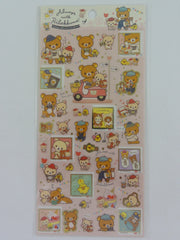Cute Kawaii San-X Rilakkuma Sticker Sheet 2019 - Always with Rilakkuma A - for Planner Journal Scrapbook Craft