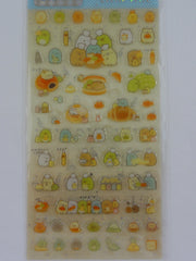 Cute Kawaii San-X Sumikko Gurashi Bread Bakery Sticker Sheet 2019 - for Planner Journal Scrapbook Craft