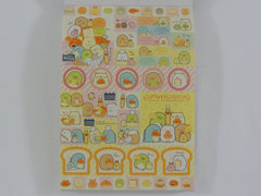 Cute Kawaii San-X Sumikko Gurashi Bakery Shop theme 4 x 6 Inch Notepad / Memo Pad - Stationery Designer Paper Collection
