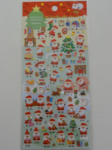 Cute Kawaii Kamio Santa Christmas Winter Sticker Sheet