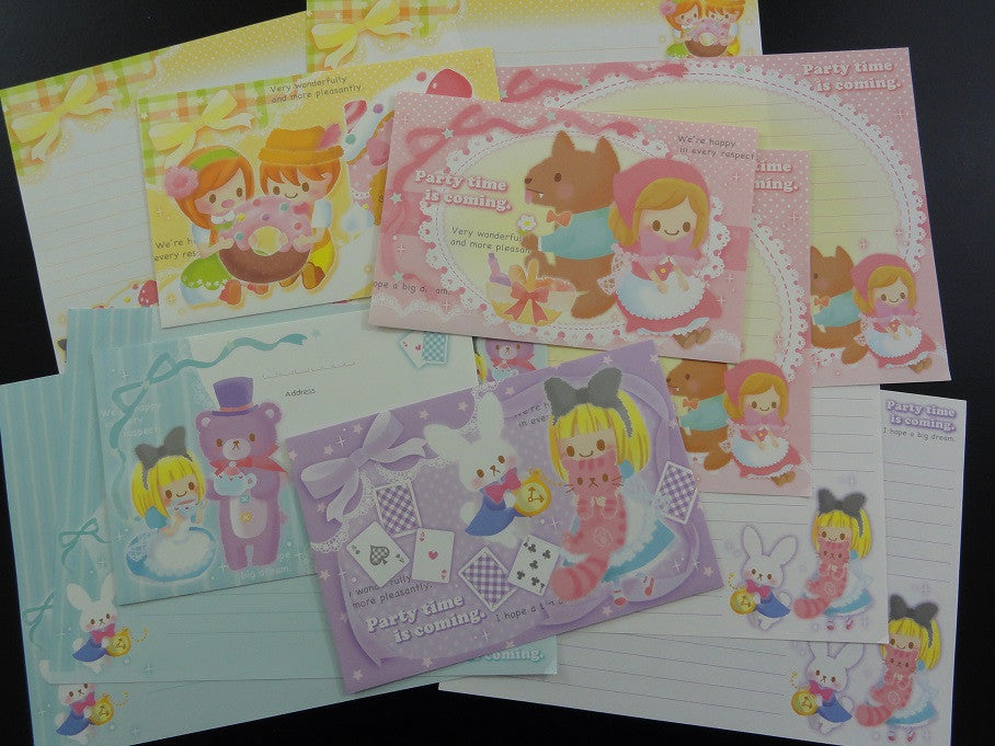 Crux Party Time Fairy Tale Letter Sets