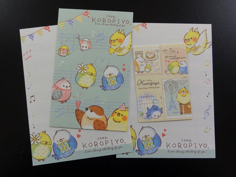 Cute Kawaii Crux Koropiyo Mini Letter Sets