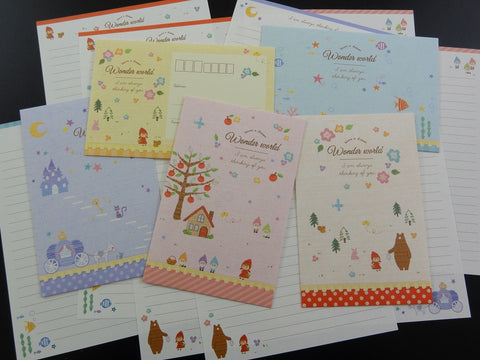 Crux Wonder World Fairy Tale Letter Sets